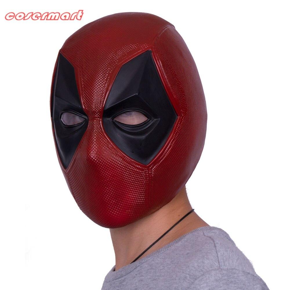 Nouveau Marvel super-héros Deadpool masque casque respirant PVC intégral casque masque Halloween Cosplay Prop