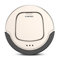 isweep Robot Vacuum Cleaner endurance about 90 min 4 Clean Modes Smart Remote Control Auto Charge + Mopping Cloth home machine