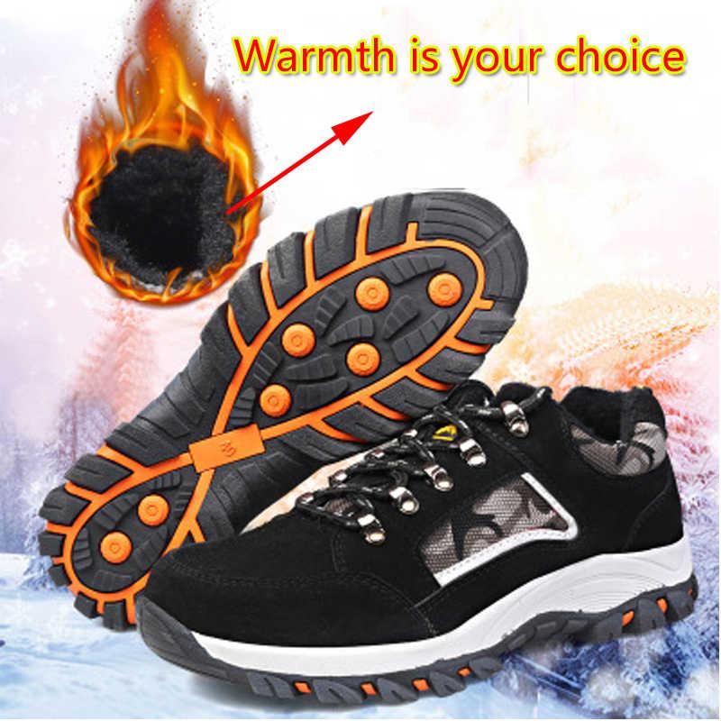 Thép không gỉ Mũi An Toàn Làm Việc Thời Trang Sneakers Nam Ngoài Trời Quân Sự Sneakers Nam Mắt Cá Chân Giày Chiến Đấu Chống nghiền nát WorkSafety Giày