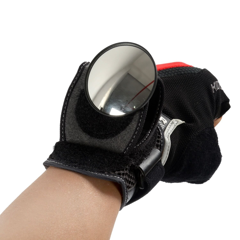 Bicycle Mirrors Bicycle Wrist Mirror Rearview Wristband Motorbike Handlebar Reflector Wristband Mirror Riding Equipment       #8