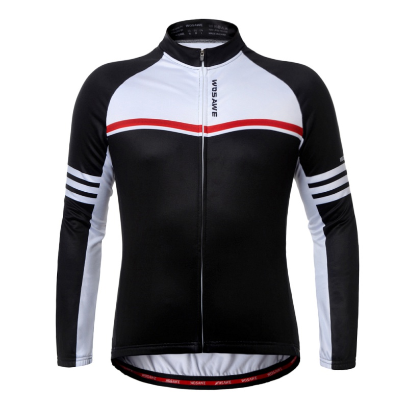 2017 New cMens Cycling Jersey Long Sleeve Outdoor Sports Bicycle Cycle Clothing Quick Dry Riding Clothes