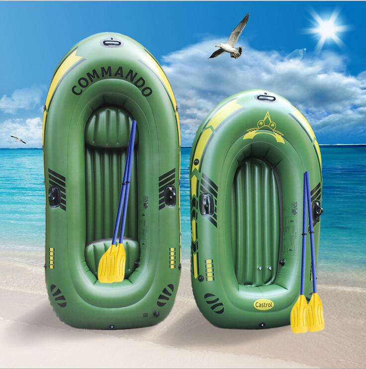 Thick PVC inflatable boat rubber boat kayak fishing two or three hovercraft drifting high quality environmental 249 * 127cm ao058m 2m hot selling inflatable advertising helium balloon ball pvc helium balioon inflatable sphere sky balloon for sale