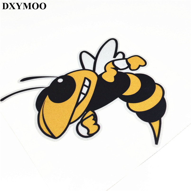12cm Moto GP Racing Italy Piaggio Bee Car Stickers Motorcycle Helmet Decals Auto Exterior Vinyl