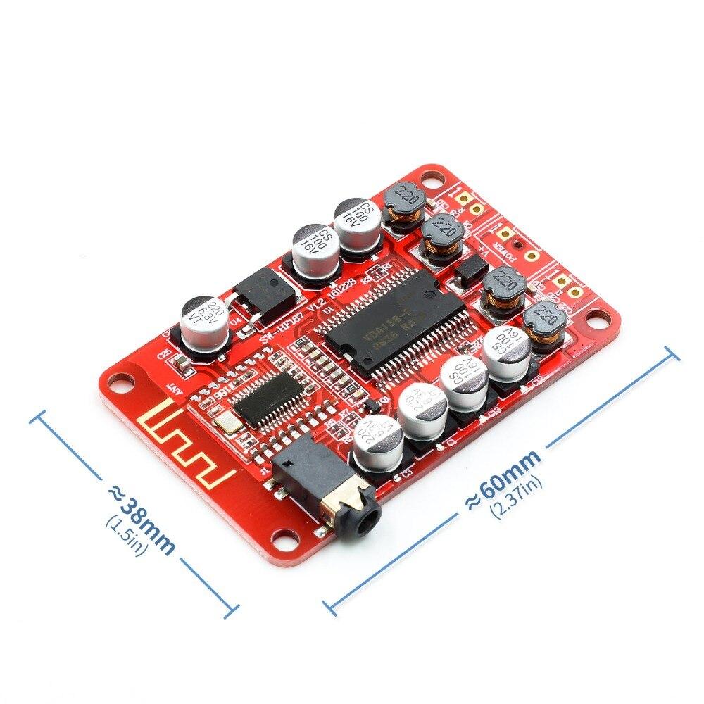 New Yamaha YDA138 Bluetooth Digital 3.5mm Audio Class D Stereo 2 Channel Power Amplifier A6-014