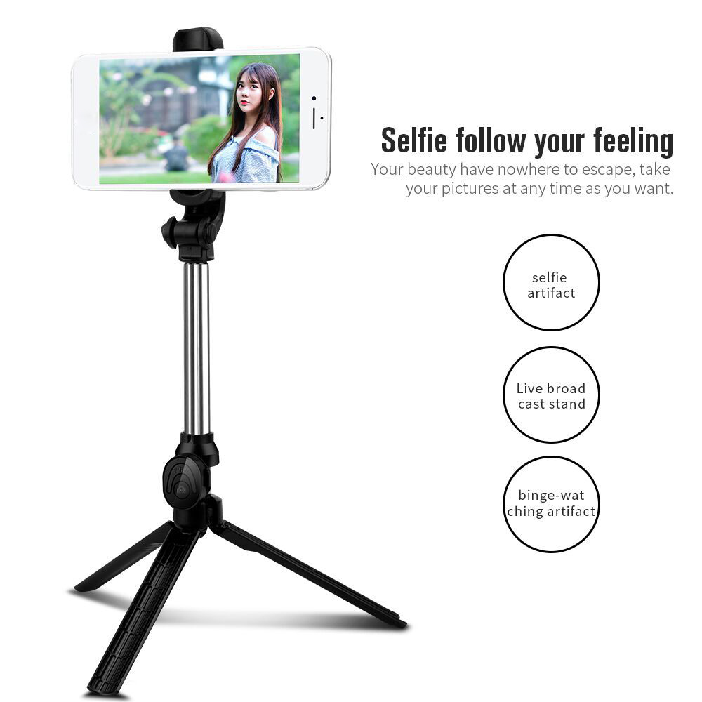 Universal Tripod Mount Holder Selfie Stick Monopod