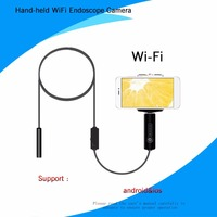 5 5mm 0 3MP Wireless WiFi Endoscope Mini Waterproof Borescope Flexible Inspection Endoscope Camera For IOS