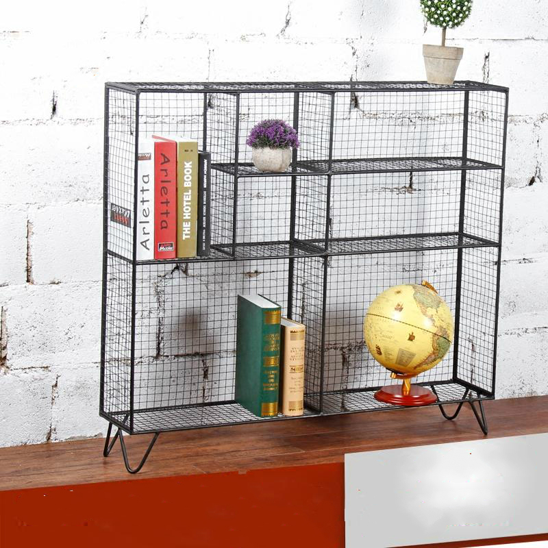 Metal Net Style Storage Cage Shelf Climbing Flower Sideboard Locker Cabinet  Lattice Grid Cabinet In Bookcases From Furniture On Aliexpress.com |  Alibaba ...