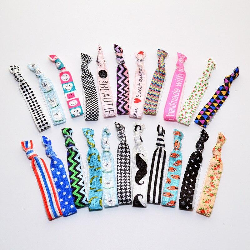 Hair Ribbons Knotted Hair Tie   Headwear   Headband Newborn Hair Accessories Elastic Hair Bands