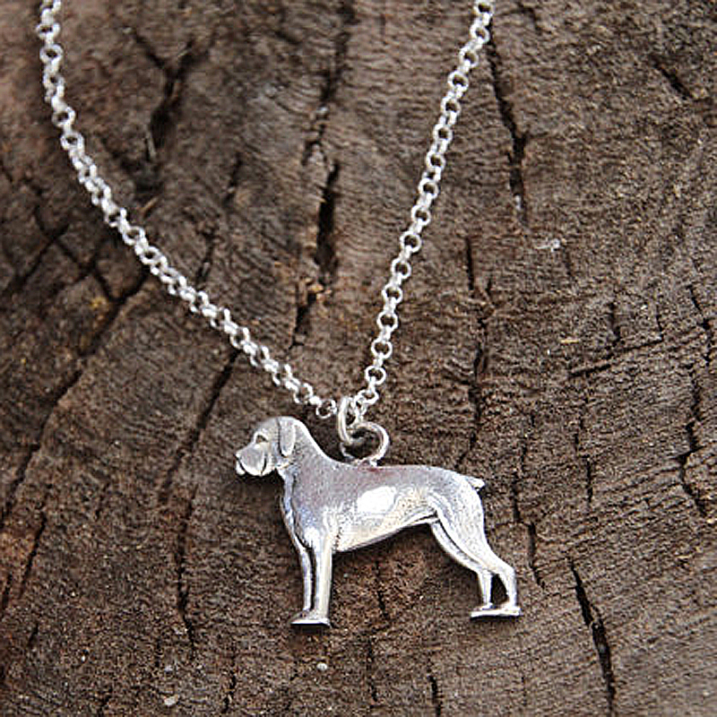 Fashion Boxer Necklace, Boxer Dog Gifts Jewelry Ornament Necklace Animal Women Boho Pendants Memorial Gift