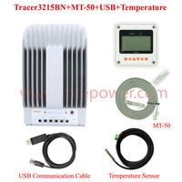 Advanced maximum power point tracking 12v 24v auto work Tracer3215BN mppt solar controller