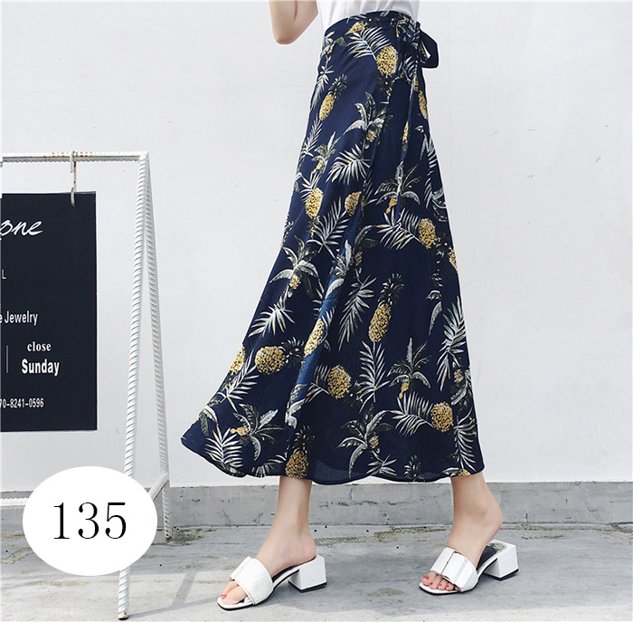 Boho Asymmetrical Chiffon Maxi Long Skirts 31
