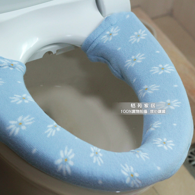 easy home toilet seat. Rustic Flower Cute Toilet Seat Cover Easy To Clean And Replace Bathroom  Product Thickening Button Overcoat