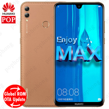 Global ROM HUAWEI Enjoy MAX Smartphone 7.12 Full Screen Android 8.1 3Cards Slot Qual-comm Snapdragon 660 octa core Mobile Phone
