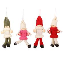 Christmas Decorations Innovative Sweaters Dolls Pendant Tree Ornaments Festival Festive Plush Hanging
