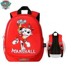 Новинка года, настоящая водонепроницаемая сумка «Щенячий патруль» marshall для детей, рюкзак, детская школьная сумка, ранец на молнии для детей 1-3-6 лет, 1 шт