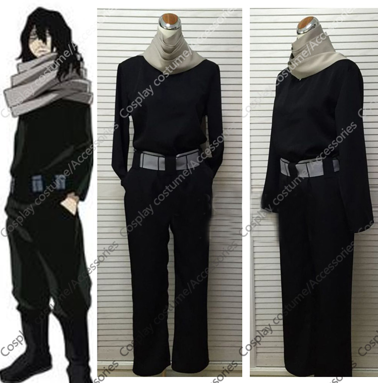 Boku no Hero Academia Aizawa Shota Cosplay Costumes
