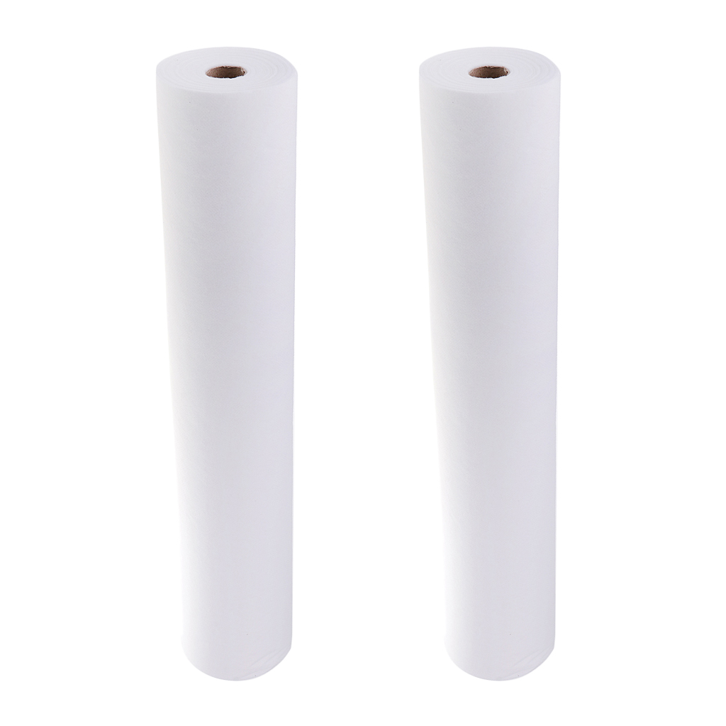 2 Roll 100 Sheets Portable Waterproof Non-Woven Headrest Paper Sheets for Massage Tattoo Table Anti-oil 50x70cm debonair oil absorbing paper sheets red blue 2 x 50 pcs