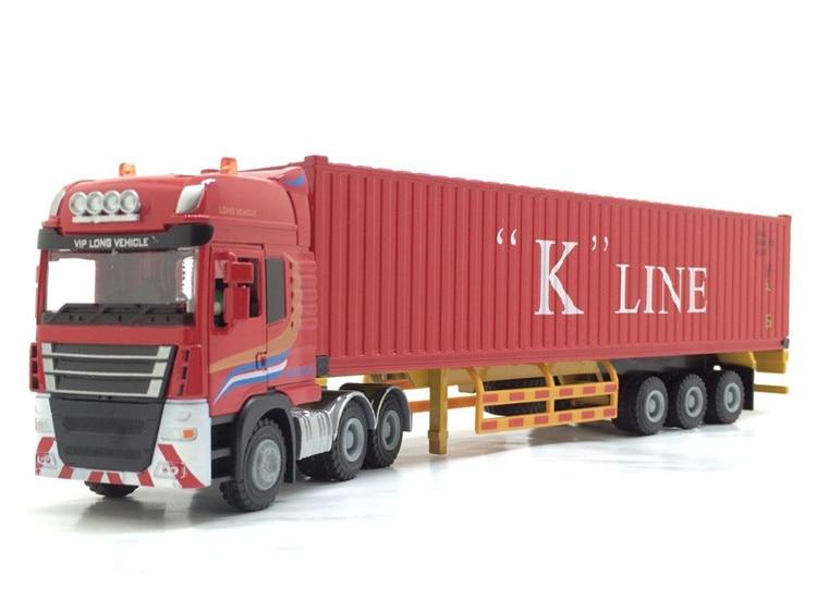 """1:50 JingBang тент платформа транспортный контейнер с линией """"к"""""""