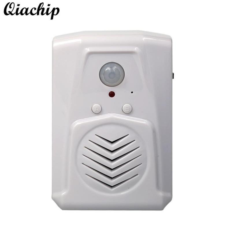 Interruptores e Relés qiachip campainha portão bola infravermelho Características : Sensor Motion Doorbell Remote Control Switch