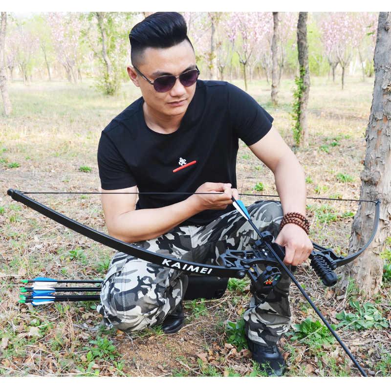30-50LBS 金属ハンドル右利きため後ろに反らすの弓アーチェリーの弓の射撃狩猟ゲーム練習ツールロシアのバイヤー購入することができ