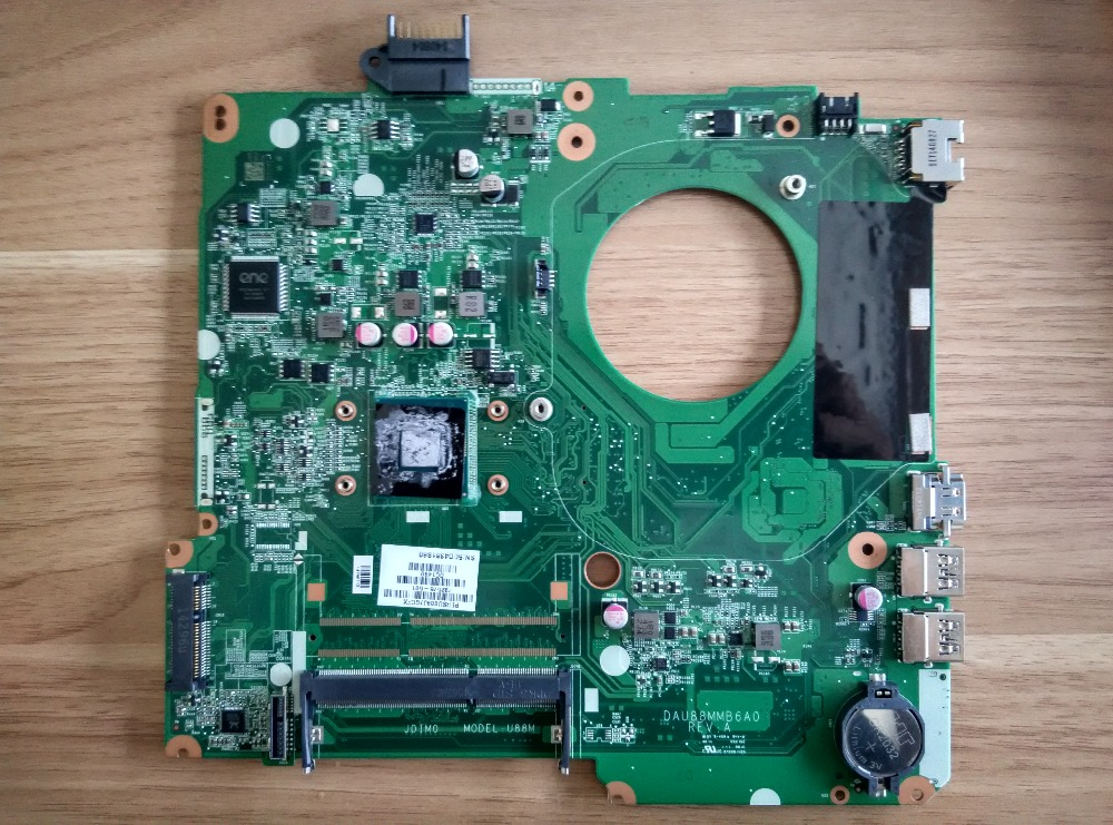 For HP 15-F series laptop motherboard DAU88MMB6A0 792975-501 DDR3 maiboard 100% test fast ship кондиционер daikin ftxk35aw rxk35a