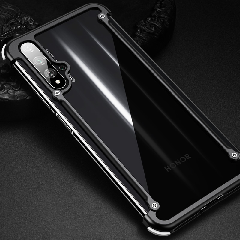 Original Oatsbasf Case For Honor 20 Pro Luxury Slim Aluminum Metal Bumper Case For Huawei Honor 20/ Pro Anti knock Case Cover|Phone Bumpers|Cellphones & Telecommunications - title=