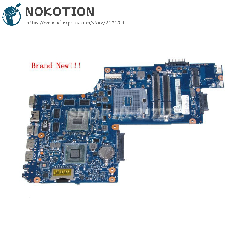 NOKOTION New H000038410 Main Board For Toshiba Satellite L850 C850 C855 Laptop Motherboard HM76 DDR3 HD7610M graphics image