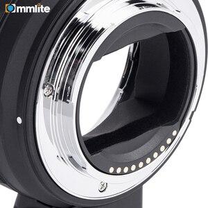 Image 3 - Commlite anillo adaptador de lente AF electrónico para objetivo Canon EF/EF S a cámaras e mount para Sony A7 A9 A7II A7RII A7RIII A6500 etc.