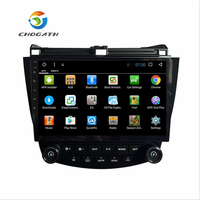 ChoGath 10 Inch Android 6.1 GPS Navigation for HONDA Accord 7 2003 2004 2005 2006 2007 support steeling wheel control