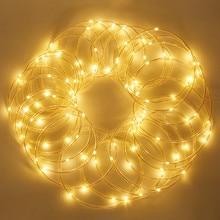 10 M 100 LED Solar String Fairy Lights Premium Quality Rope Tube Led Strip Outdoor Garden Xmas Party Decor Lighting