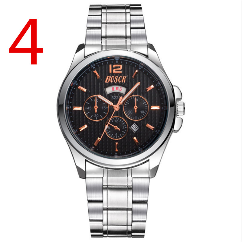 2019 Elegant Fashion Men's Business Quartz Watch 29# 5