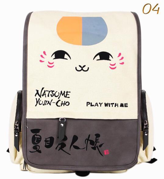 Anime Natsume miku  backpack large capacity canvas unisex cute School student backpack  Anime Natsume miku  backpack large capacity canvas unisex cute School student backpack