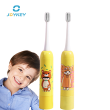 Children Cartoon Pattern Electric Toothbrush Kids Home Cute Soft Hair Sonic Acoustic Wave Teeth Brush Cleaning
