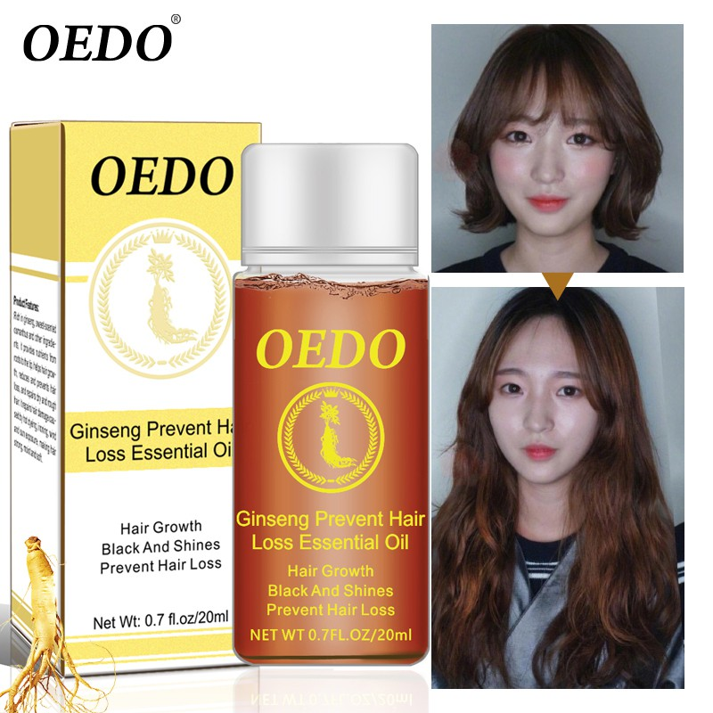 20ml Ginseng Hair Care Essence Treatment For Men Wo