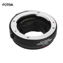 Кольцо-адаптер с автофокусом для объектива Four Thirds 4/3 для Olympus Panasonic Micro 4/3 мм F3