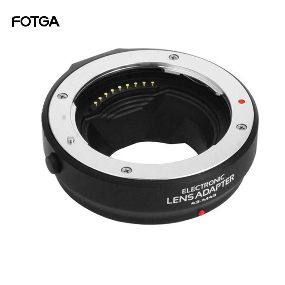 Anel adaptador de foco automático para quatro terços 4/3 lente para olympus panasonic micro 4/3 mmf3