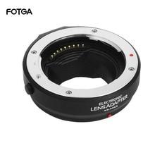 Pierścień adaptera automatycznego ustawiania ostrości dla czterech trzecich obiektywów 4/3 do Olympus Panasonic Micro 4/3 MMF3