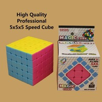2017 NEW High Quality Magic Cube Professional 5x5x5 Cubo Magico Puzzle Speed Classic Toys Learning Education