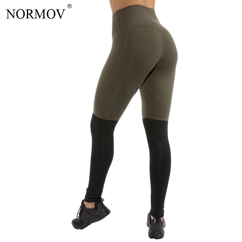 NORMOV Мода Сердце Patchwok леггинсы Для женщин Высокая Талия Фитнес леггинсы Activewear брюки женские брюки Для женщин S-XL 2 цвета
