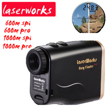 Hot ! free shipping waterproof handheld laser range finder 1000m Infrared rangefinder distance telescope power electronic device дальномер gamo range finder 1000m lrf1000m