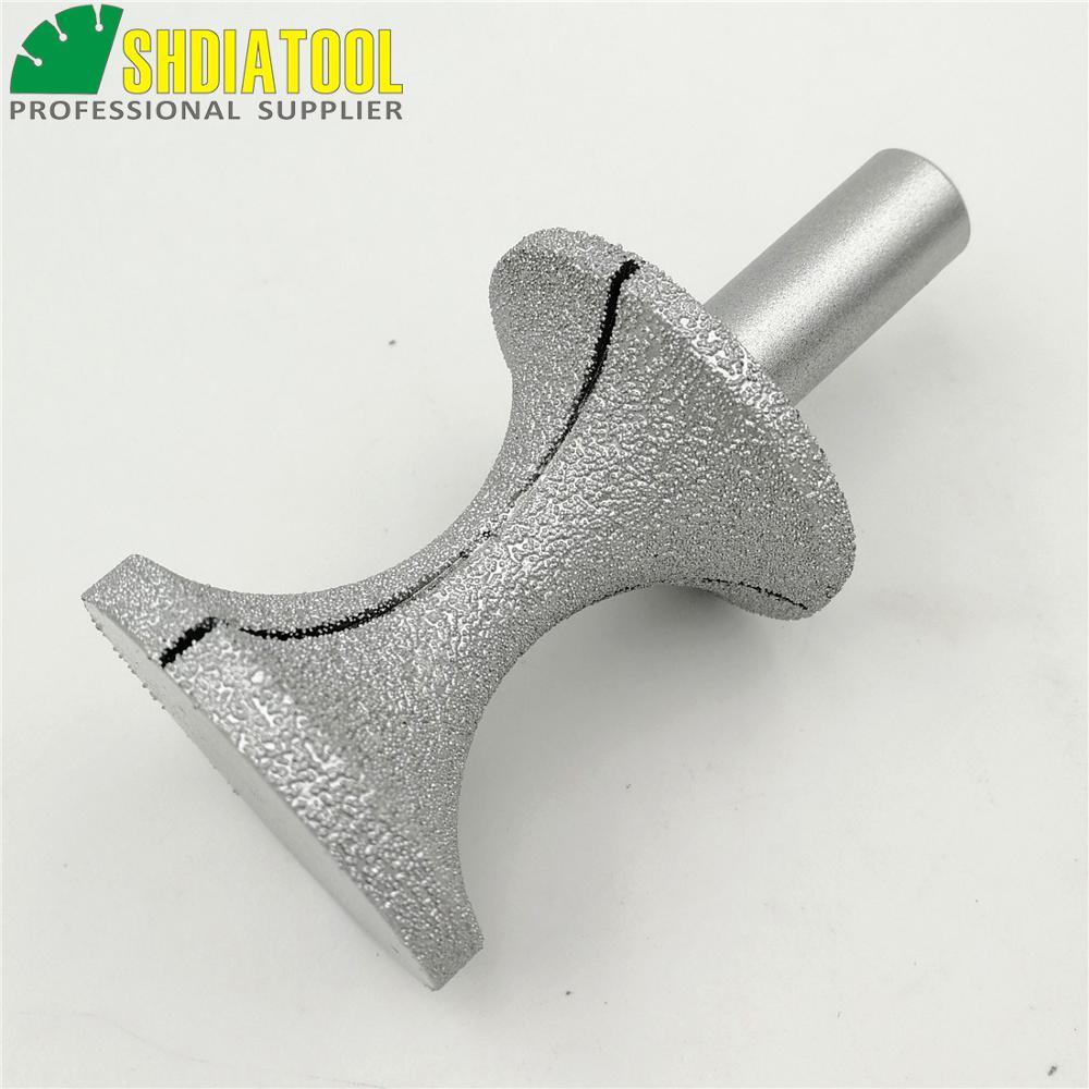 SHDIATOOL N. 26 BIG X Tipo Router diamantati brasati sotto vuoto con - Utensili abrasivi - Fotografia 3