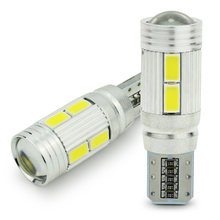 Safego 2pcs Car LED T10 W5W Canbus Error Free 10 smd 5630 194 168 LED Light Bulb led light parking T10 LED Car Side Light цена