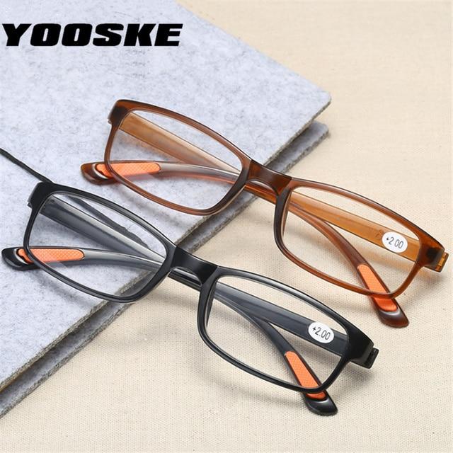 ba776d92a8 YOOSKE gafas de lectura anti-caída de los hombres gafas de lectura de las  mujeres
