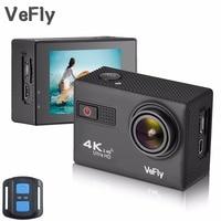 VeFly 4 K Ultra HD sport action camera, l' impermeabile Wi-Fi go pro cam con Anti-Shake GIROSCOPIO elettronico wifi auto video kamera