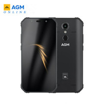 "Agm A9 Jbl Co Branding 5.99 ""4G + 32G/64gG Android 8.1 Robuuste Telefoon 5400 mah IP68 Waterdichte Smartphone Quad Box Speakers Nfc"