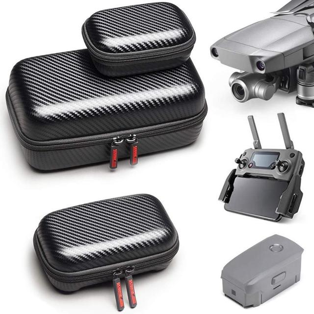 STARTRC DJI Mavic 2 פרו זום אביזרי Drone גוף עמיד למים נייד אחסון PU תיק שלט רחוק סוללה Hardshell תיק