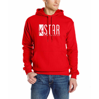 2017 Autumn Brand Hoodies Series Men Hoody STAR S T A R Labs Jumper The Flash