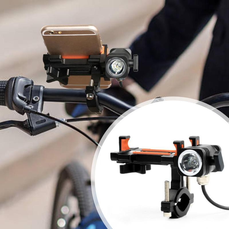 Велосипедного держателя телефона велосипед подставка для руля универсальный мотоцикл gps кронштейн с лампа для отдыха на открытом воздухе, руль для шоссейного велосипеда, Велоспорт части