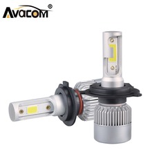 H7 H1 LED Car Headlight Bulbs H11 H8 H9 LED Auto font b Lamp b font