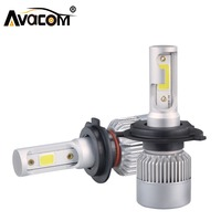 H7 H1 LED Phare De Voiture Ampoules H11 H8 H9 LED Auto Lampe 9005 HB3 9006 24 V 72 W 8000Lm 6000 K COB 12 V LED HB4 H4 Brouillard de Voiture de Lumière